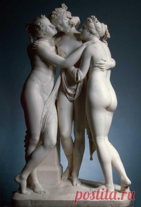 Пост поразительных скульптур.