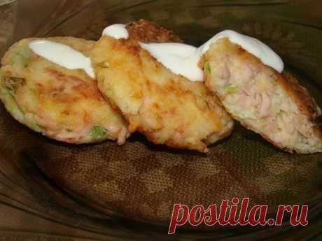 Картофельные биточки - лучшйи сайт кулинарии