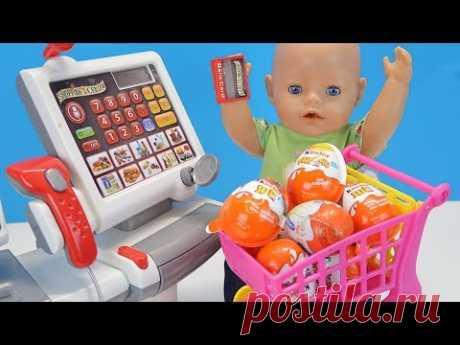 Покупаем Игрушки и Киндер Сюрпризы Как Мама и Беби Бон Ходили в Детский Магазин