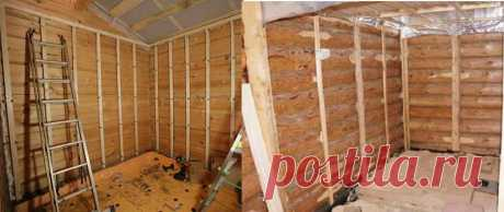 Внутренняя отделка дома из бруса: особенности и способы, инструменты и монтаж