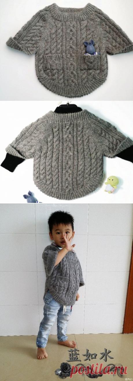¡El pulóver para el muchacho \/ Tejemos, Tejemos, Tejemos (la Labor de punto)!!!