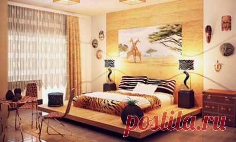 Дизайн интерьера в африканском стиле своими руками: как подобрать цвета, оформление декора, отделка стен, пола и потолка в африканском этническом стиле, выбор мебели.
