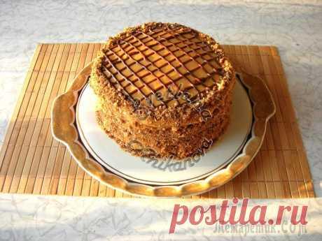 Домашний торт «Витязь» очень вкусный и несложный в приготовлении