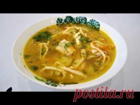 Правильная домашняя лапша для супа | Лапша яичная рецепт теста