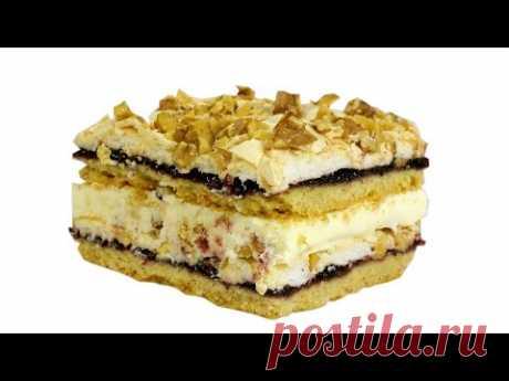 Песочный торт «Пани Валевская»: пробовала один раз, восхищаюсь по сей день! - Любимые рецепты