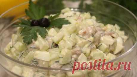 Такой салат, съедается быстрее, чем готовится - Простые рецепты Овкусе.ру