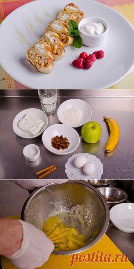 (770) Сладкая Масленица: блины с творогом и фруктами - пошаговый рецепт с фото - сладкая Масленица: блины с творогом и фруктами - как готовить: ингредиенты, состав, время приготовления - Леди@Mail.Ru