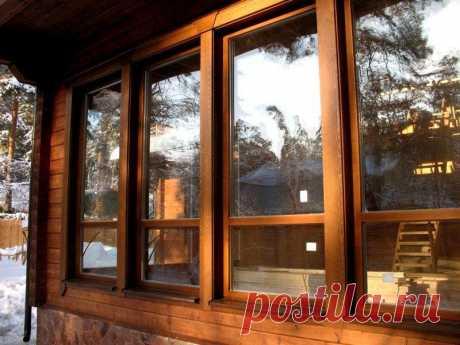 Хороши либо нет деревянные окна? | Жильё Моё