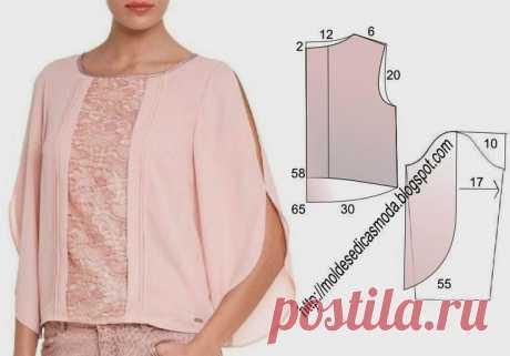 Выкройки модных блузонов