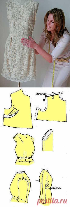 Пошив платья | Проведение первой примерки платья