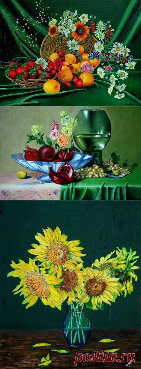 Бархатные натюрморты Fiorentino Manganiello.