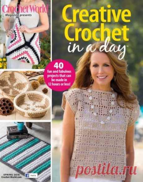 Creative Crochet Spring 2016 (вязание крючком)