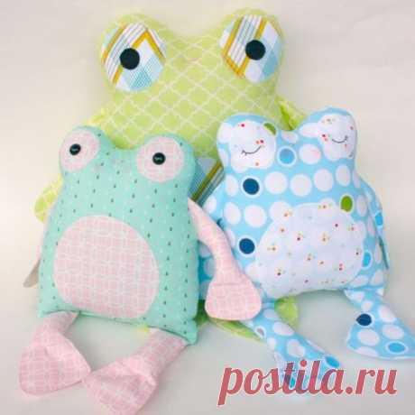 Los juguetes-almohadas entretenidos :) Las ideas para la inspiración
