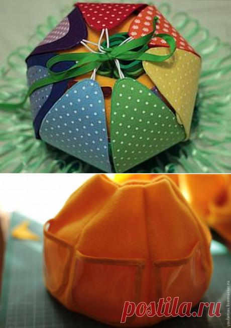 """Шьем развивающий мяч-трансформер """"Репка"""" - Ярмарка Мастеров - ручная работа, handmade"""