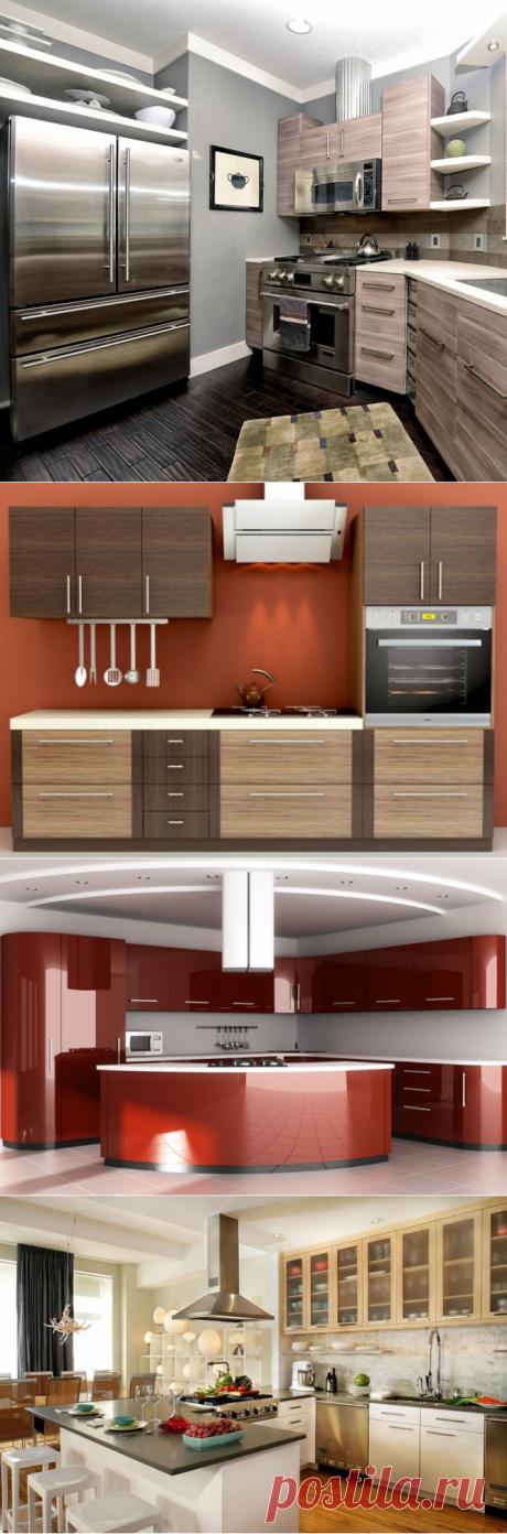 Кухни в стиле модерн: фото интерьера и кухонных гарнитуров