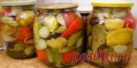 Универсальный маринад для любых овощей Советуем сохранить этот рецепт в закладках