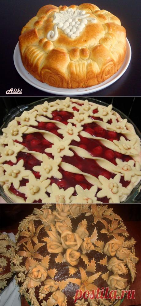 Красивый декор пирогов