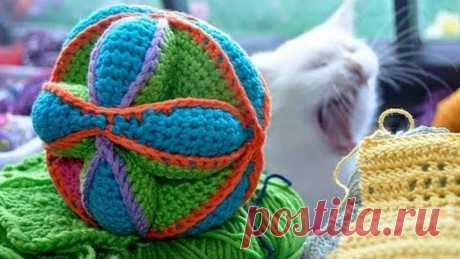 How to Crochet * Amish Puzzle Toy * Part 3