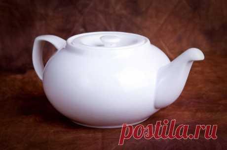 Как отмыть заварочный чайник — Полезные советы