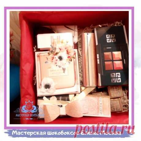 """Подарочный набор """" аля Givenchy"""" Шокобокс – заказать на Ярмарке Мастеров – KHB0YRU   Подарочные боксы, Москва"""