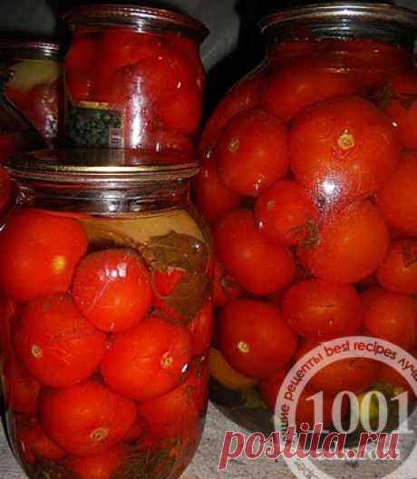 Заготовка помидоров на зиму без уксуса - Помидоры на зиму от 1001 ЕДА