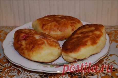 Пирожки на кефире жареные на сковороде