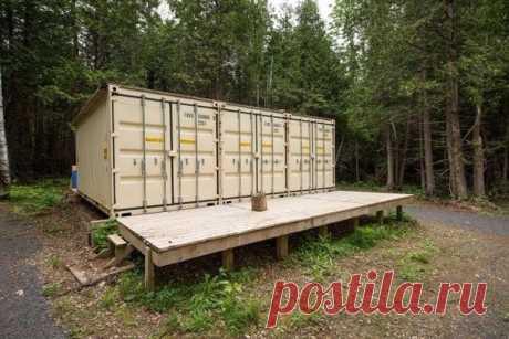 Дом из грузовых контейнеров. - Дизайн интерьеров | Идеи вашего дома | Lodgers