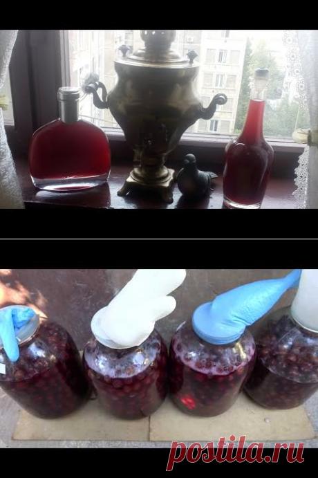(80) (18+) Вишнёвка по старому доброму рецепту (Наливка, Настойка, Ликёр) 🍒 - YouTube