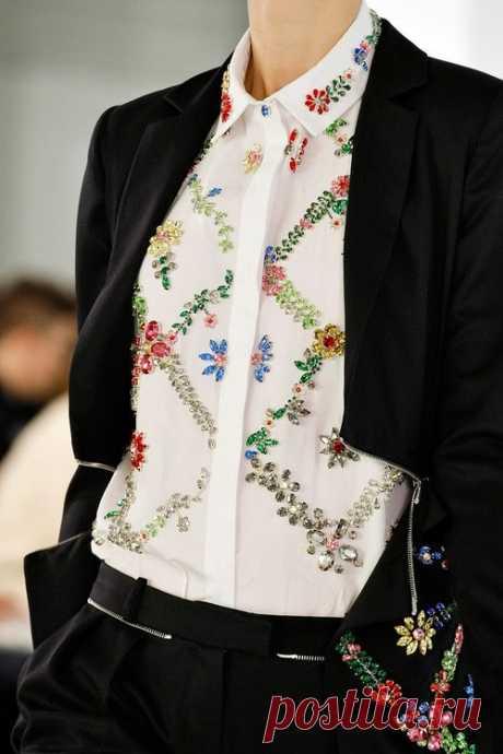 Идея по переделке рубашки Модная одежда и дизайн интерьера своими руками