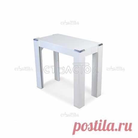 Стол-консоль В2370 белый, венге, Москва