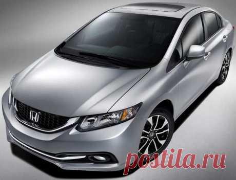 седан Honda Civic 2013 года |