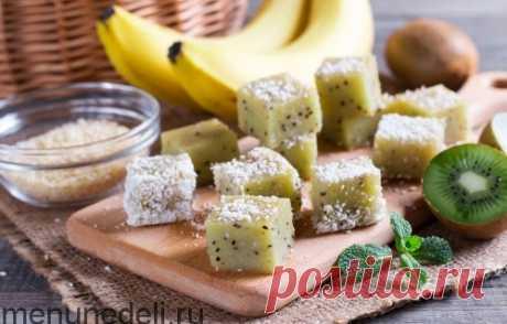 Рецепт домашнего мармелада киви-банан