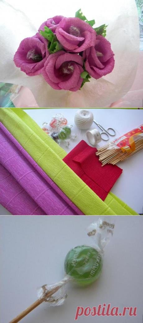 Малый бизнес на дому: Букеты из конфет своими руками: 70 фото создания карамельных и шоколадных цветов