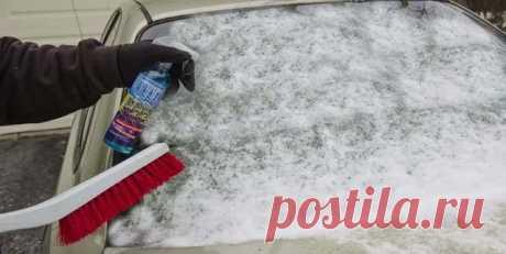 Как быстро отогреть лобовое стекло автомобиля зимой: разные способы