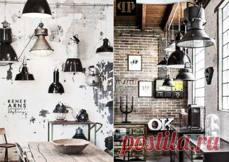 Светильники в стиле лофт | Ivybush.ru