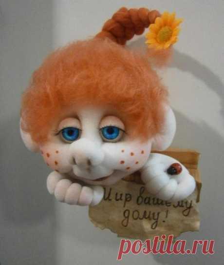 Куклы капроновые или чулочные Нины Демьяненко | razpetelka.ru