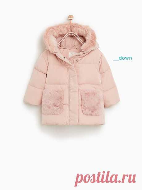 Верхняя одежда для малышей – девочки | Новая коллекция онлайн | ZARA Беларусь