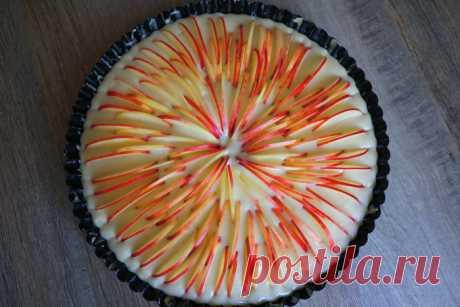 Изумительно вкусный яблочный пирог  Всем большой привет! Сегодня готовлю потрясающе вкусный яблочный пирог! Готовится проще некуда, из минимального набора продуктов, которые есть у каждой хозяйки, получается настолько мягким и нежным, …