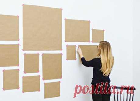 Подруга наклеила на стену несколько квадратов из бумаги, а через полчаса ее комната преобразилась. Планирую повторить ее идею в своей спальне