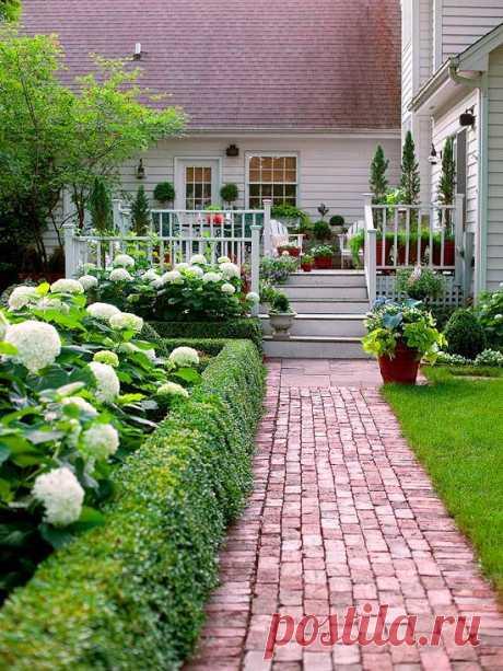 20 отличных идей для садовой дорожки — Roomble.com