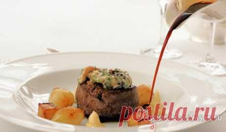 Винный соус для стейка