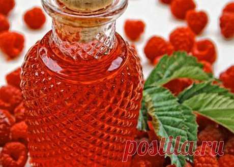 4 рецепта ликера из малины - изумительный ягодный вкус и летний аромат - Кухни всего мира - медиаплатформа МирТесен