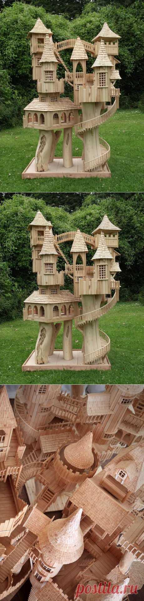 Сказочные деревянные домики Роба Херда. | Краснодеревщик