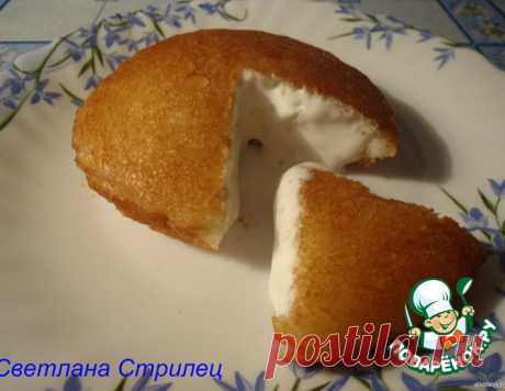 Жареное мороженое в тостовом хлебе