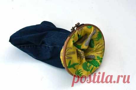 Идея: подвесные корзинки из старых джинсов и пялец — Мастер-классы на BurdaStyle.ru