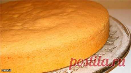 Бисквит по рецепту итальянского кондитера Луки Монтерсино. Рецепт c фото, мы подскажем, как приготовить!
