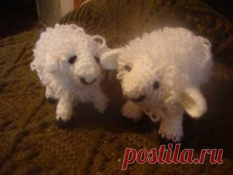 Как связать барашка крючком? How to crochet sheep?