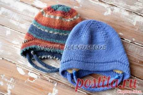 . Двойная шапка с ушками - Вязание - Страна Мам