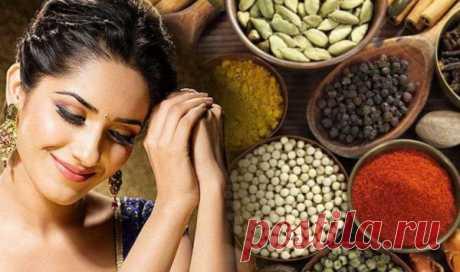 Секреты красоты индийских женщин. Натуральная косметика в домашних условиях