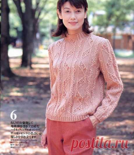 Рукодельницы, для вас утончённые джемперы из японских журналов. | Asha. Вязание и дизайн.🌶 | Яндекс Дзен